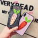アイフォンXケース 可愛い キラキラスパンコール 人参 iphone8plus保護カバー 韓国風 大人気 オリジナルデザイン キャロット アイフォン6sカバー