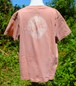 草木染、桜の木め、綿100%Tシャツ 子供用 セール価格