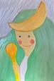 「月の女神」 西尾宏美