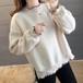 【トップス】無地カジュアルファッション韓国系プルオーバー長袖シンプルTシャツ/カットソー24513202