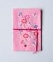 【抽選販売】[D(ピンク地)]みずうちさとみさんの「天然生活手帖用オリジナル手帖カバー」布製【限定2個】