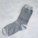 socks S-1 (geometric) グレー