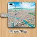 【受注生産】パノラマ「浅草」iPhone7Plus用 手帳型ケース