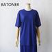 BATONER/バトナー・Washable Wool Half Sleeve Tunic