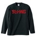 LOGO LONG SLEEVE(BLACK×RED)