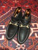 .GUCCI LEATHER HORSE BIT SHORT BOOTS MADE IN ITALY/グッチレザーホースビットショートブーツ 2000000034874