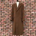 Austin Reed Wool & Cashmere Chesterfield Coat Made In England
