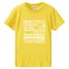 15周年Tシャツ(イエロー) ガールズサイズ  G-S,G-M,G-L