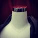 VAPOR TRAILのダイヤモンドのネックレス