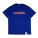 マッドロックロゴ Tシャツ/ドライタイプ/ブルー&オレンジ