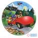 マクドナルド 絵皿 ロナルドと赤い車