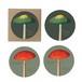 コースター 白樺 木製 4個セット KOUSTRUP & CO. - Mushrooms マッシュルーム