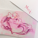 【lovewave series】love ポストカード