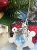ホワイトクリスマスの風景を閉じ込めたアイスキューブ風イヤホンジャック