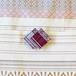 博多織樹脂帯留め(OD-03)紫 パープル