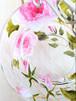 【母の日ギフト】ピンクローズ プレート2つ&シルバーケーキスタンドセット/誕生日プレゼント