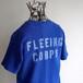 1980's USA製 [J.E.MORGAN] バックステンシル サーマルポケットTシャツ ブルー 表記(M) ヴィンテージ