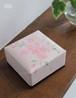 香箱(小) ピンクリネン・桜