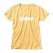 ロゴTシャツ・アルファベット|黄