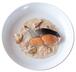 鮭のきのこホワイトソース豆乳仕立て