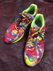 2000's New Balance psychedelic trance sneakers