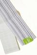 芸艸堂半巾帯 矢鱈縞 紫