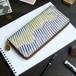 ラウンドファスナー 長財布(オーロラ ストライプ)オールレザー 革 レディース メンズ ILL-1150