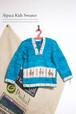 子供用フード付きアルパカセーター(3歳児用)