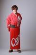 2020カープ浴衣 Basic(赤) メンズS~LL 背番号なし ポリエステル100% 仕立て上がり
