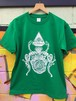 『JIKOOHA』T-shirt  GR×WH