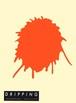 DRIPPING Sticker L(サニーオレンジ)