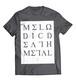 """Alphoenix """"MDM II"""" 2019 GRAY T-Shirt"""