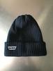 WOWニット帽 ブラック(送料込み)