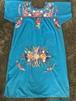 ビンテージ カラフル 花柄 刺繍 メキシカン ワンピース ドレス ヒッピー ボヘミアン