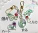 【Luceチャリティーチャーム】グリーンアベンチュリン キラキラ水晶つき 売り上げから一部寄付に参加できる商品