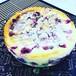 ラズベリー&ブルーベリーのベイクドチーズケーキ