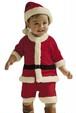 パパ、ママへプレゼントを届けるサンタになる♥ミニサンタ 衣装 男の子 90cm
