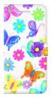 【iPhone7/iPhone8】 Butterflies Dance 蝶のダンス 手帳型スマホケース