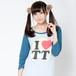 TT Raglan T-shirts(Blue × Light blue)