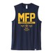 Sleeveless Shirt / MFP / Navy