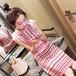 【ワンピース】美人 お洒落感アップカジュアル切り替えドレスデートワンピース25691449
