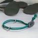 men's&ladie's bracelet■shara (vivid green)