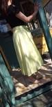 コットンリネンフィッシュテールスカート