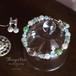 《送料無料》【クリスタル×アクアマリン】天然石フルブレス【セット販売】