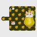 手帳型スマホケース「エキゾチックショートヘアと洋梨」(iPhone5/5S/SE ・iPhone6/6s ・iPhone7 ・iPhone8 ・iPhoneⅩ・Android S・M)