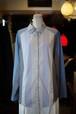 Unisex's / raglan sleeves SHIRT of stripe and check and plain fabrics