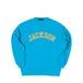COLLEGE LOGO J CREW SWEAT M381105- L.BLUE / クルー スウェット シャツ MARATHON JACKSON マラソン ジャクソン