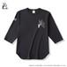 50% OFF Fブルドッグ ベースボールTシャツ スミ黒