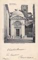 古絵葉書エンタイア「ダンテの墓」(1901年)