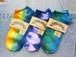 Small Stone Ladies' Tie Dye Sneaker Socks (スモールストーン レディス タイダイ スニーカーソックス)
